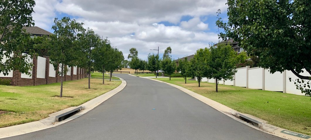 Residential Developments Streetscape